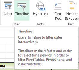 Excel 2013: Use Timelines With PivotTable Data - MS Excel