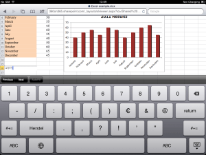 Office 365 on Tablet