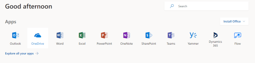 Office 365 apps can be used to improve productivity