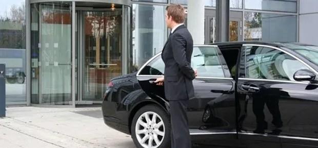 Black Car Chauffeur waiting