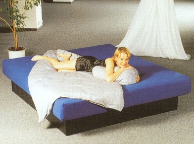hardside waterbed furniture with a
