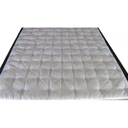 geneva pillow top hardside waterbed cover