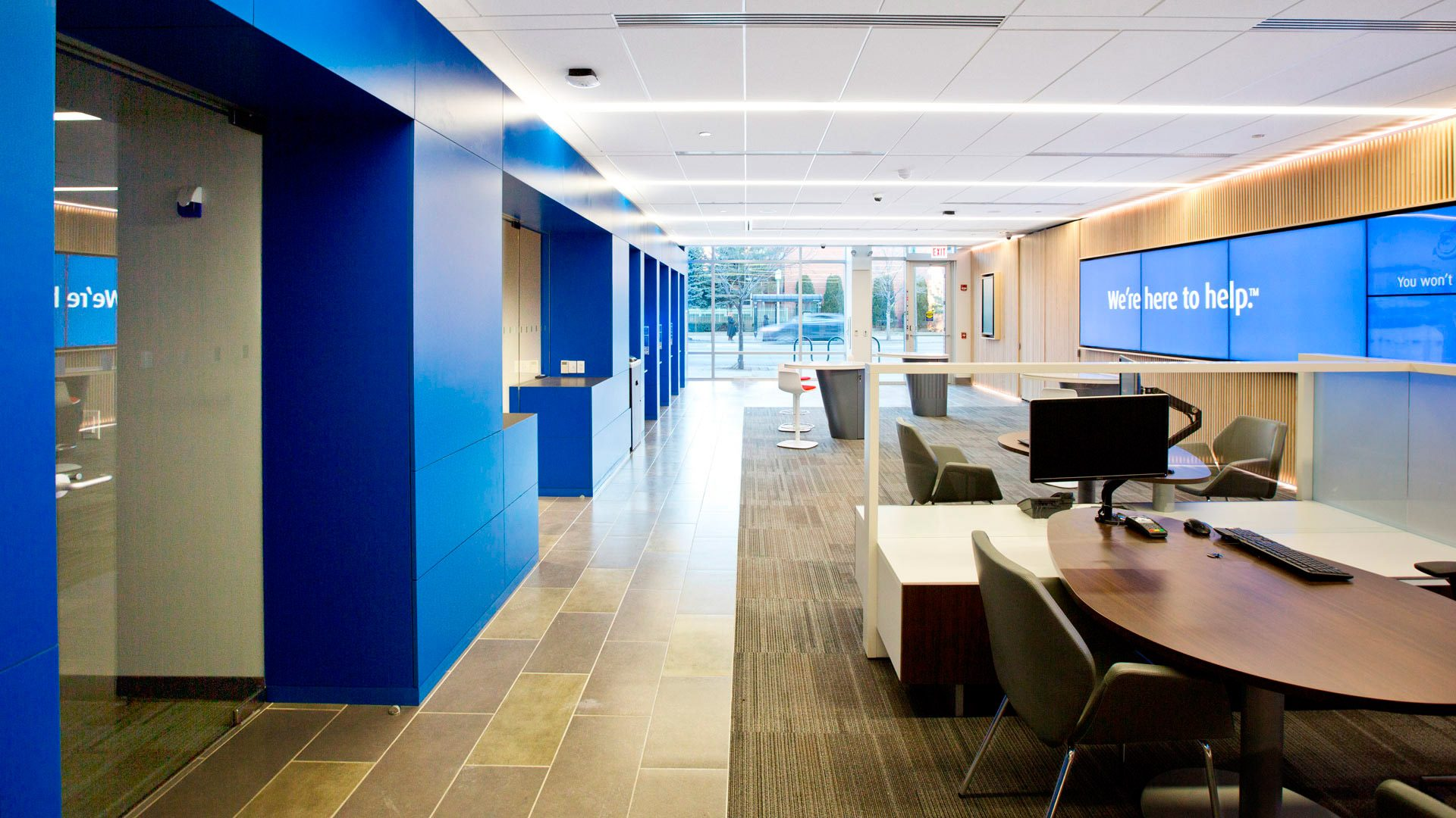 Interactive Retail Bank STL Architects