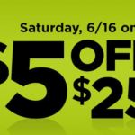 Dollar General – Save $5 On Your $25 Purchase June 16th