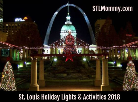 Christmas Light Displays In St Louis.St Louis Holiday Lights Activities 2018 Stl Mommy