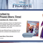 Disney Frozen Story Time Target Store Event + Save 25% on All Disney Frozen Toys
