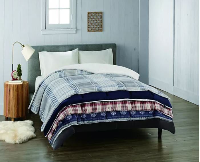 Kohl S Black Friday Deal Cuddl Duds 4 Piece Comforter Sets As Low As 36 80 Retail 200 Stl Mommy