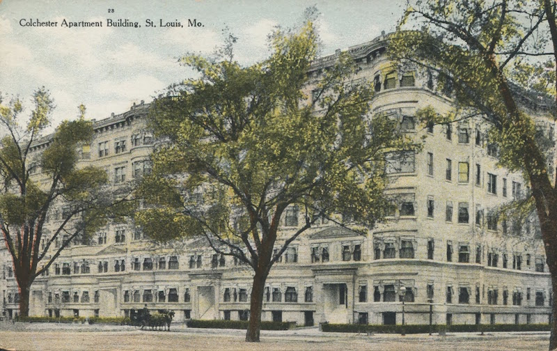 this is a historic picture of the ABC building in the Central West End
