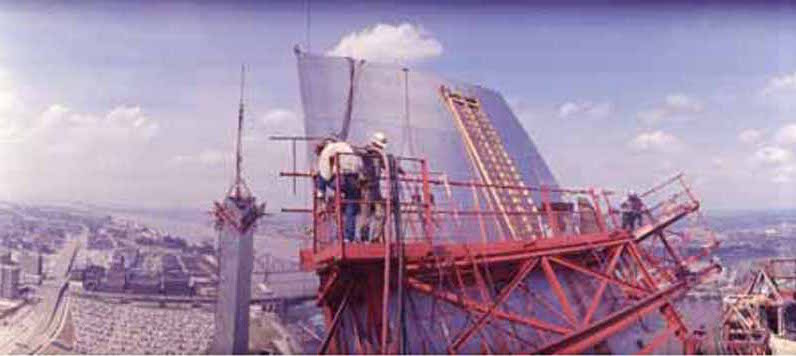Construction of the arch