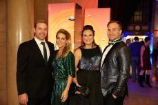 Bryan & Erica Willert, Megan & Thomas Wall