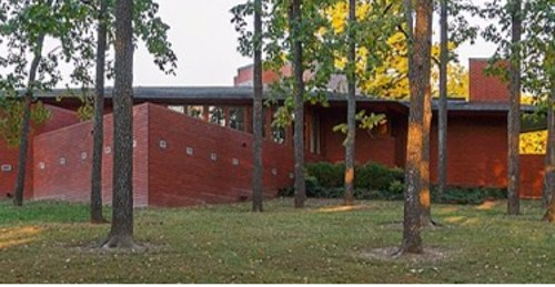 Cool Architecture & Hot Glass Benefitting the Frank Lloyd Wright House