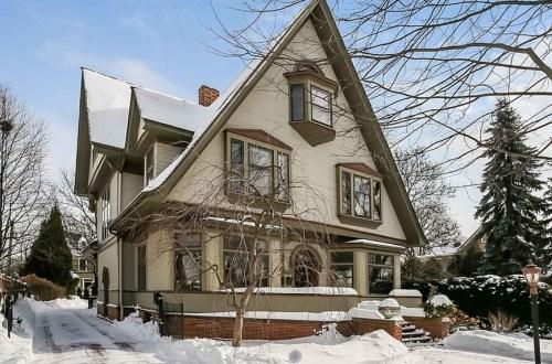 1892 Home by Frank Lloyd Wright   211 South La Grange Road