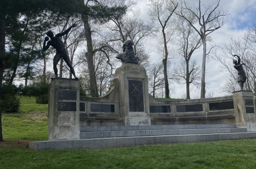 About the Friedrich Jahn Memorial Statue in Forest Park