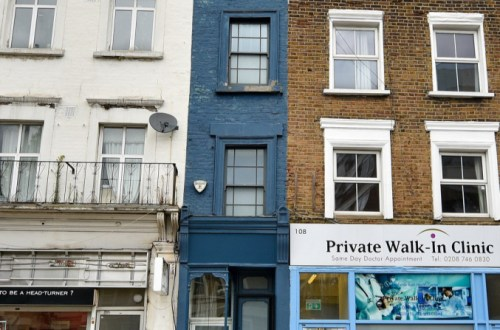 The Skinniest Home in London Hits the Market for $1.29M