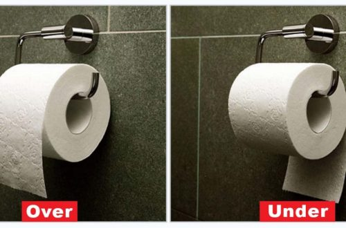 The Correct Way to Hang Toilet Paper