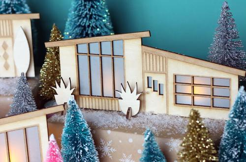 6 Mid-Century Inspired Holiday Decor DIY's