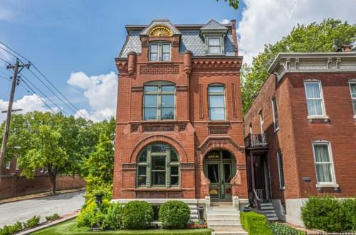 """The """"Keyhole House"""" in Soulard 