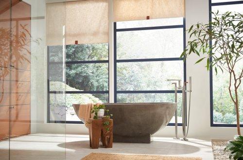 Brizo X Frank Lloyd Wright Bath Collection