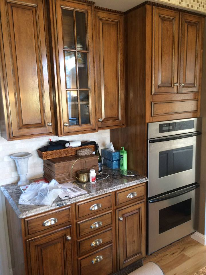 cabinet refinishing stl