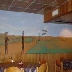 restaraunt mural painting