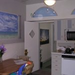 residential kitchen mural painting