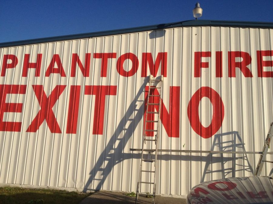 commercial sign painting