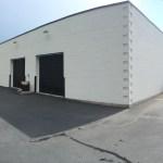 We paint exterior commercial buildings