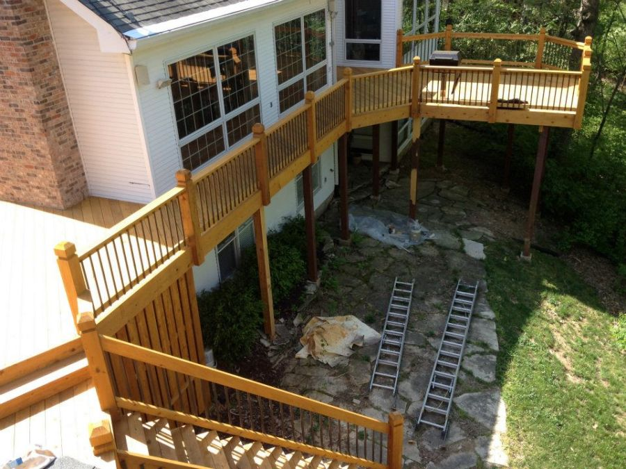 wildwood deck staining