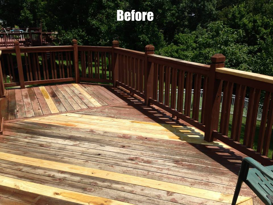 we do deck repairs