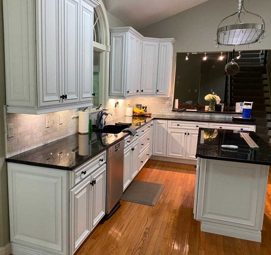 stl kitchen cabinet spraying