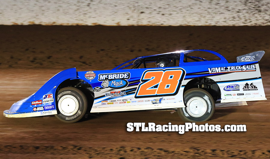 Dennis Erb, Jr. Eyes Lucrative Show-Me 100 Weekend at Lucas Oil Speedway