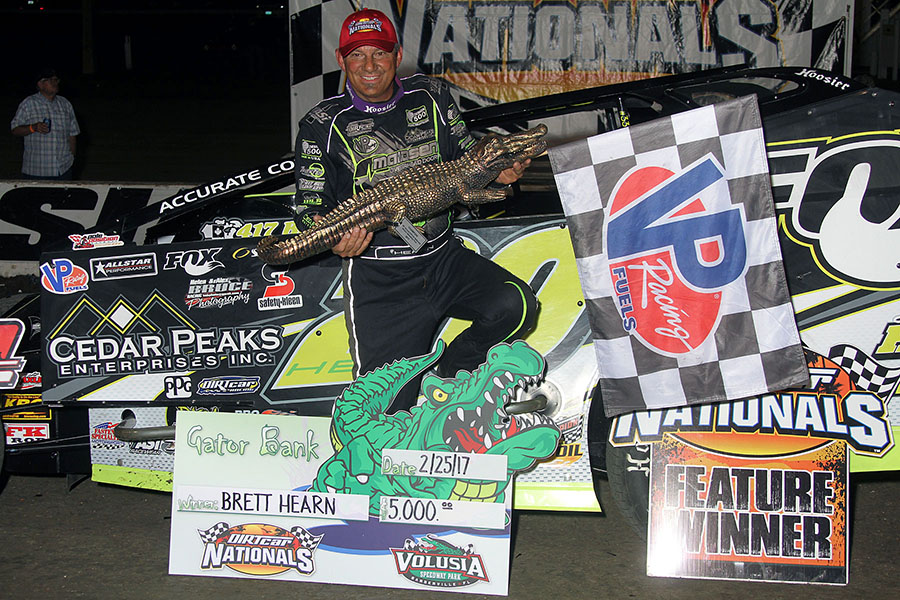 Hearn Double Dips at DIRTcar Nationals