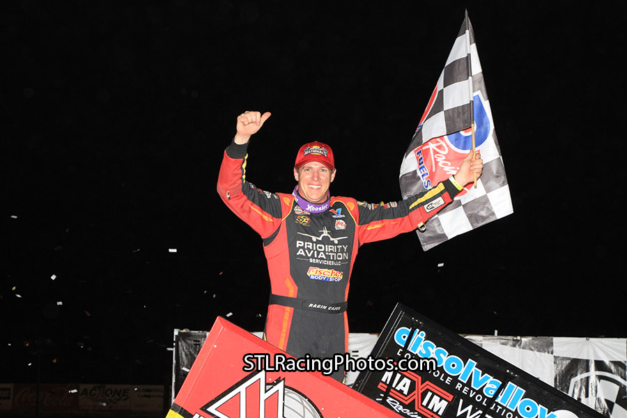 Jason Johnson Wins first career Gator at DIRTcar Nationals