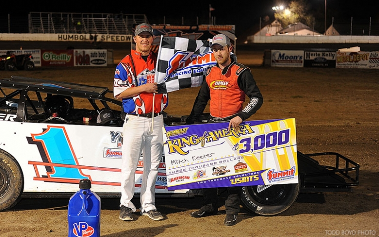 Keeter claims first USMTS win in King of America VII kickoff