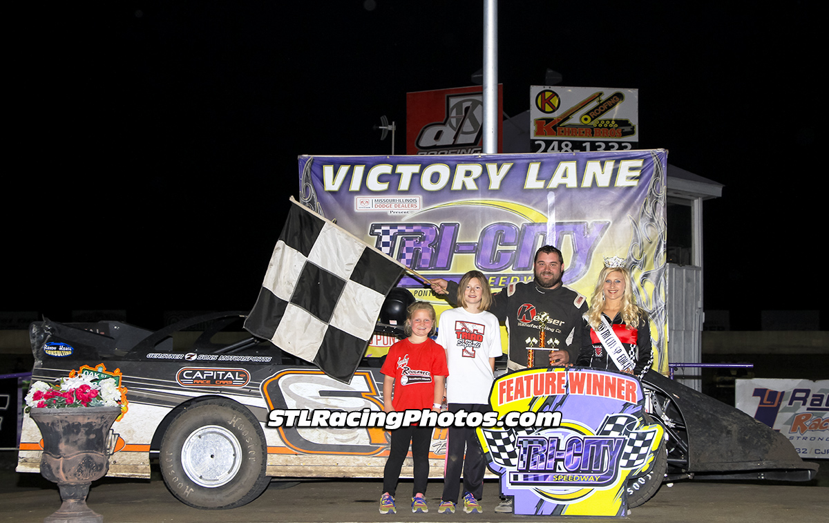 Michael Kloos, Rick Stevenson, Robbie Eilers, A.J. Cline & Dallas Lugge take wins at Tri-City Speedway!