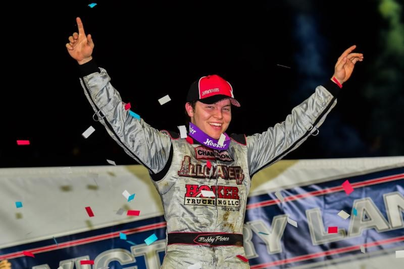Pierce Charges to Show-Me 100 Victory at Lucas Oil Speedway