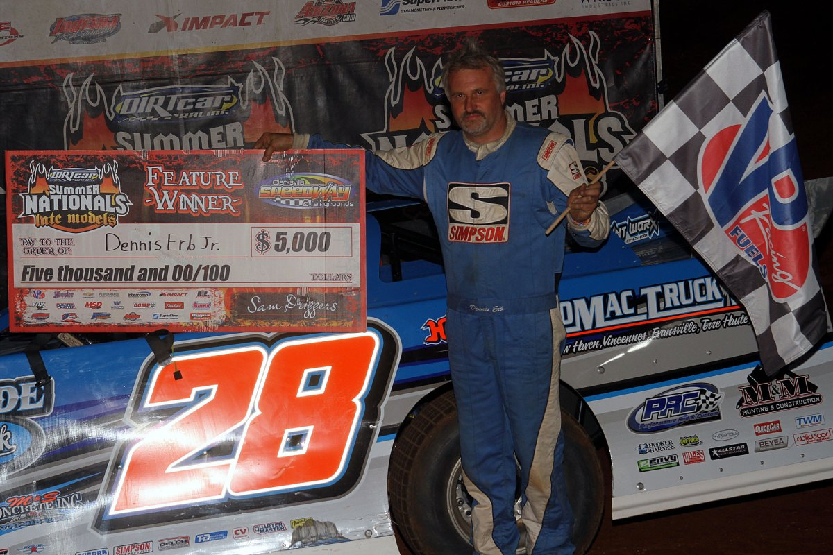 Dennis Erb, Jr. takes Clarksville UMP Summer Nationals victory