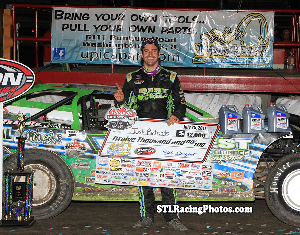 Josh Richards Victorious in First Appearance at Macon!