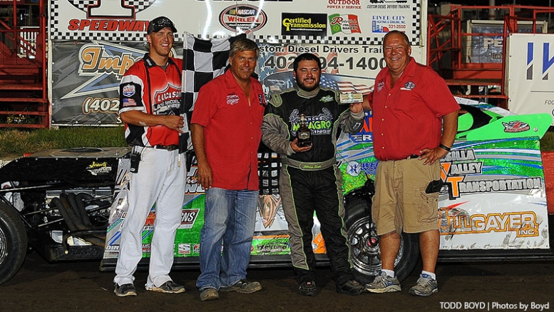 Johnny Scott earns pole for USMTS Silver Dollar Nationals
