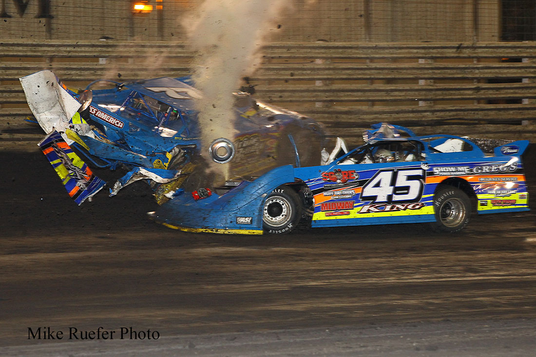Knoxville Late Model Nationals photos by Mike Ruefer