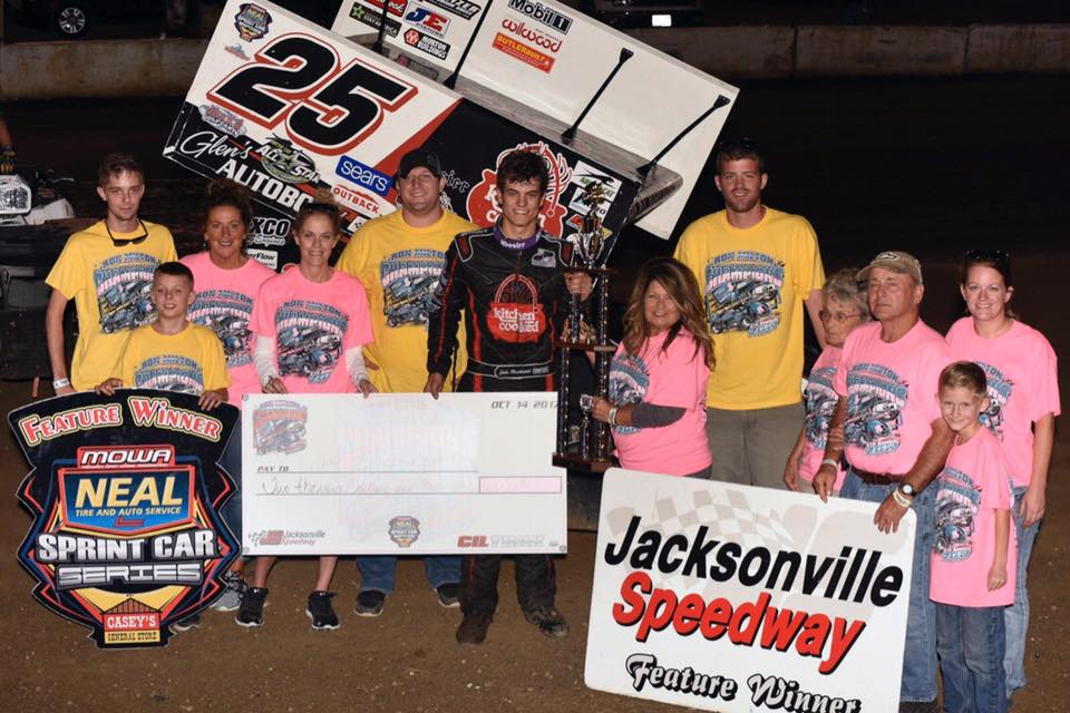 Jake Blackhurst takes MOWA win at Jacksonville Speedway!