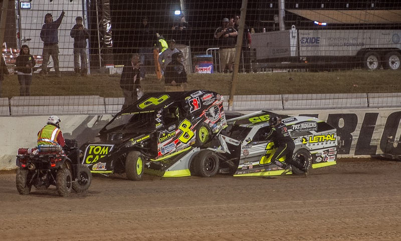 Kyle Strickler penalized by DIRTcar UMP for actions at Charlotte!