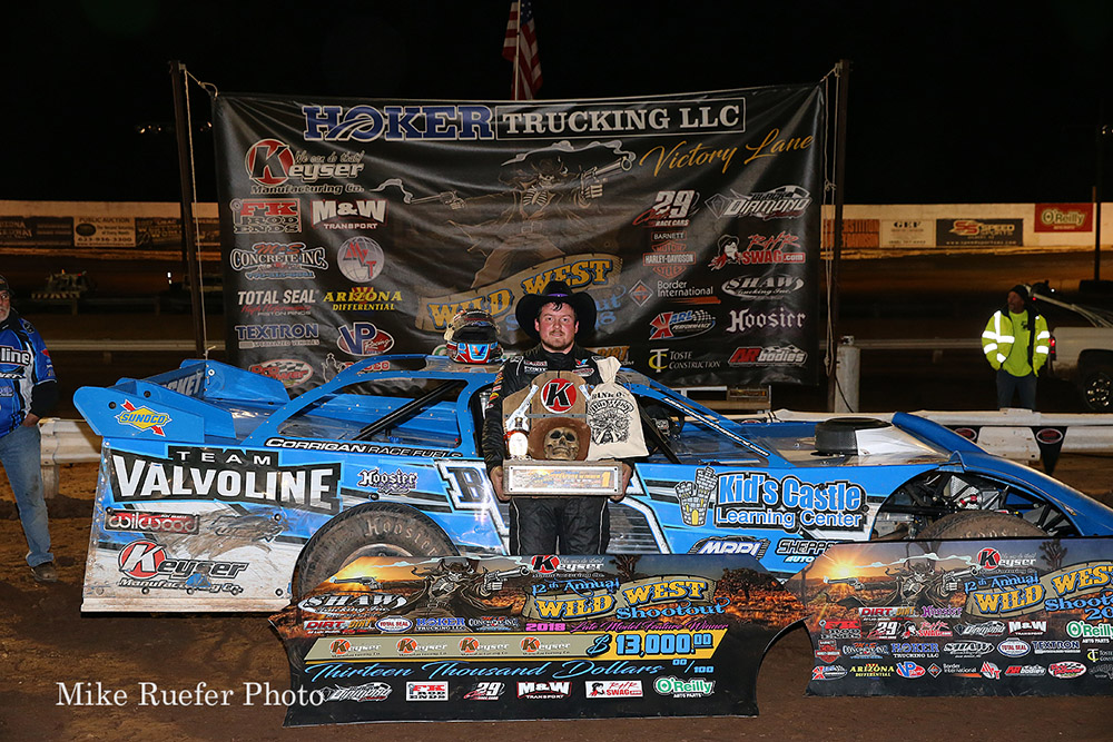 Brandon Sheppard wins Wild West Shootout finale!