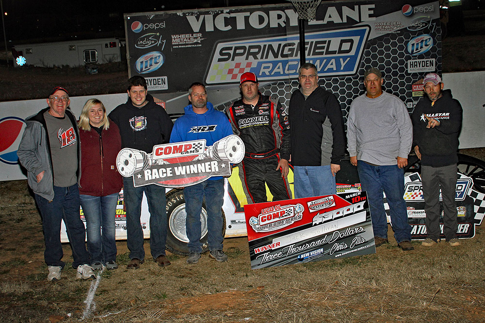 Jack Sullivan takes Springfield Raceway's March Madness win!