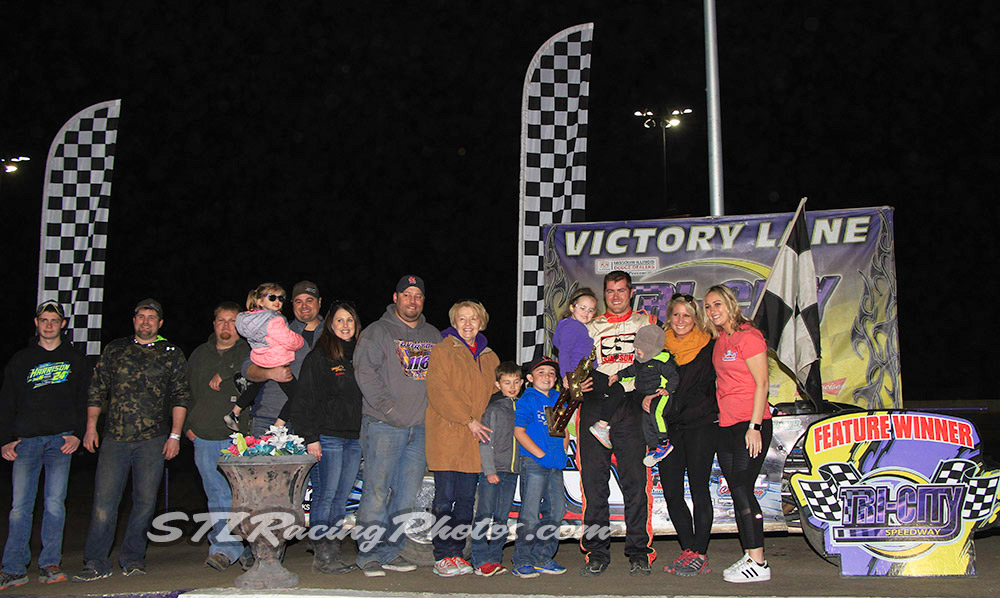 Tim Manville, Tommie Seets, Jr., Trey Harris, Kyle McMahon & Gary Walker take wins at Tri-City Speedway