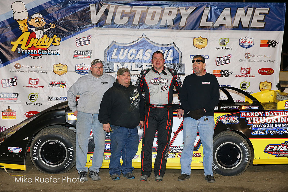 Chris Simpson Goes Back to Back with MLRA Win in Davenport
