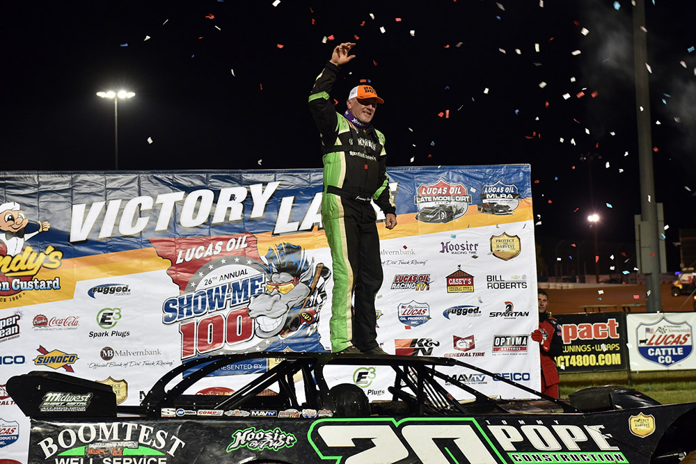 Owens Back in Victory Lane at Lucas Oil Speedway