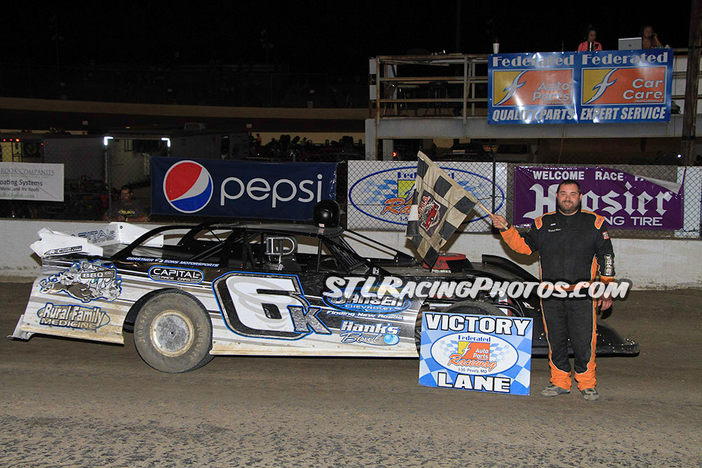Michael Kloos, Mike Harrison, Trey Harris, Gary Haynes & Anthony Sunshine take wins at Federated Auto Parts Raceway at I-55!