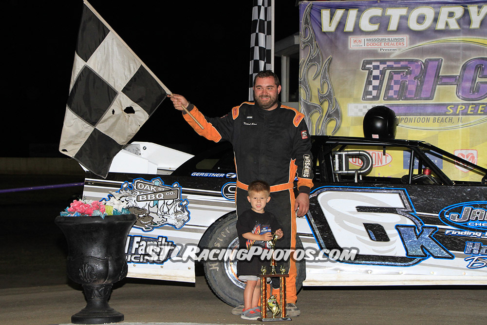 Michael Kloos, Mike Harrison, Trey Harris, Jake Little, Vance Wilson & Josh Fisher take wins at Tri-City Speedway!