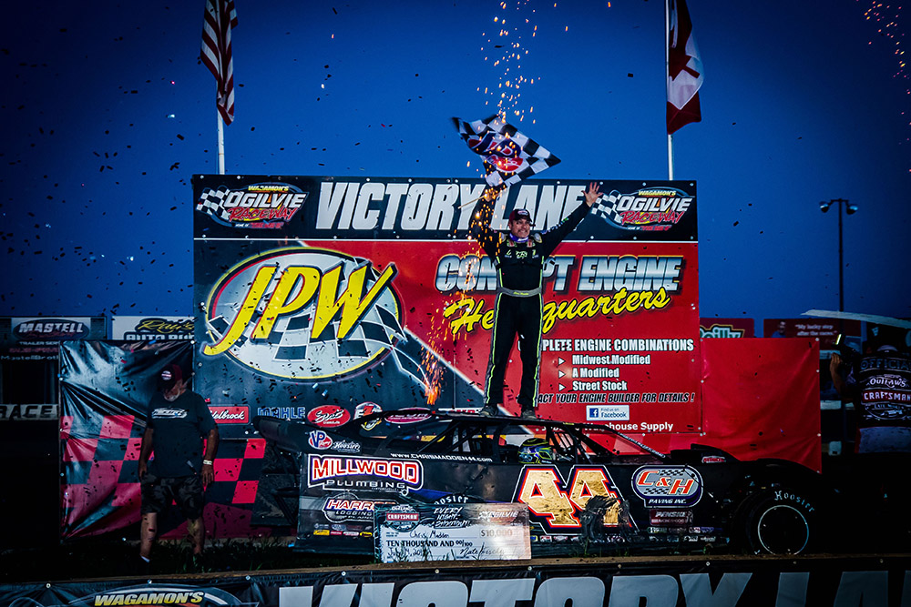 Chris Madden Repeats Past Success at Ogilvie Raceway for Series Win No. 5